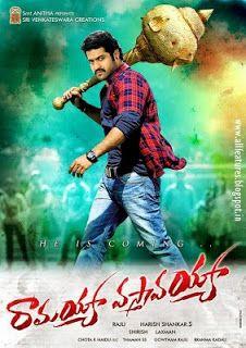 Free Movie Download: Ramayya Vasthavayya Telugu Free Movie Download