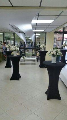 Floral arrangements for client