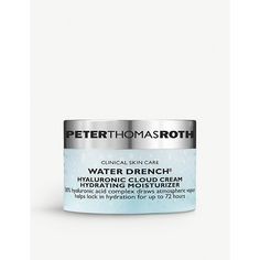 PETER THOMAS ROTH WATER DRENCH MOISTURISER 20ML. #peterthomasroth Retaining Water, Skin Care Clinic, Peter Thomas Roth, Moisturiser, Hyaluronic Acid, Fragrance, Alcohol, How To Apply, Rubbing Alcohol