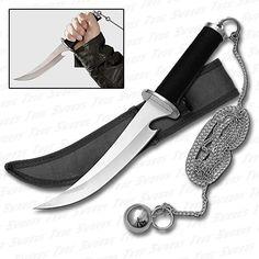 Ninja Weapons And Gear | Weapon of the Ninja Assassin w/ Steel Ball & Chain