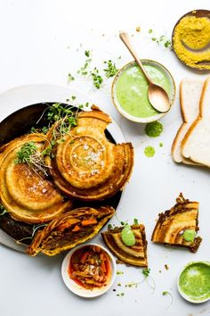 Quorn Vegan Hot & Spicy Burger jaffles with lentil and atchar, served with a Coriander Dipping Sauce are fun, delicious and packed with flavor.