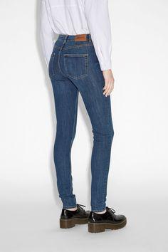 Monki Image 3 of Mocki jeans  in Blue
