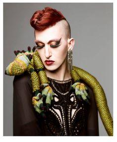 Pphotography Daniel Kaminsky Style by Gili Sivan Makeup: Ronny Chokron Model: Nona Chalant Dress by Alon Livne
