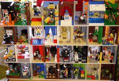 minifig modular display shelf series 1 and 2 by cecilihf, via Flickr
