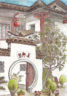 Steven Reddy: October Drawings in China