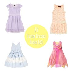 25 Easter Dresses Under $30  cute with navy shoes