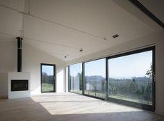 expanded windows open plan interior home design