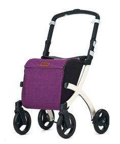 Rollz Einkaufs-Rollator Rollz Flex, Purple
