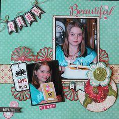 Beautiful Girl - Scrapbook.com