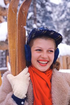 Chic ski style inspired by our favorite style icons: Rita Hayworth
