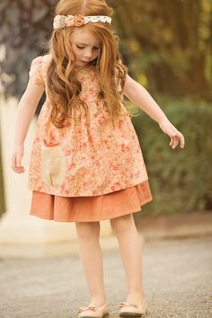 Pink Alice Apron Dress | Girls Apron Dress - Persnickety Outlet