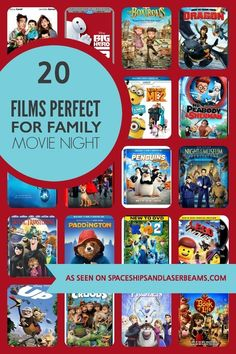 20 Films Perfect for Family Movie Night – Family Movies Miracle Movie Night For Kids, Movie Night Party, Family Movie Night, Family Movies, Movie Nights, Girls Night, Family Tv, Best Kid Movies, Good Movies