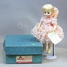 Madame Alexander 1578 Renoir 13 Inch Doll With Original Box