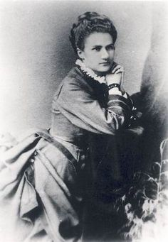 Mary Custis Lee, oldest daughter of Gen. Robert E. Lee and wife, Mary.