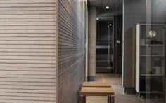KOO-sisustuspaneeli, harmaa Tall Cabinet Storage, Garage Doors, Interior Ideas, Outdoor Decor, Industrial, Furniture, Home Decor, Decoration Home, Room Decor