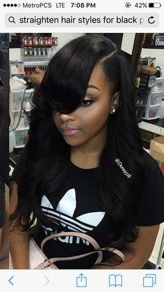 66 Chic Short Bob Hairstyles & Haircuts for Women in 2019 - Hairstyles Trends Short Bob Hairstyles, Black Girls Hairstyles, Hairstyles Haircuts, Trendy Hairstyles, Weave Hairstyles, Ladies Hairstyles, Hair Styles 2016, Curly Hair Styles, Natural Hair Styles