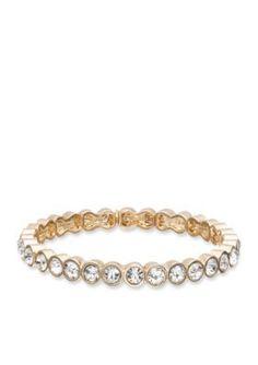 Nine West  Small Stone Stretch Bracelet