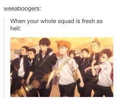 The Haikyuu Squad