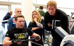 Prince Harry's games for the warrior wounded. The Invictus Games for injured and sick military personnel are transforming lives before they even start. #PrinceHarry #InvictusGames #UK #royals #British #soldiers #military #WoundedWarriors #veterans #ArmedForces