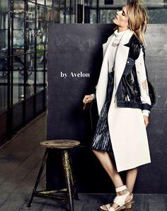 Een one-of-a-kind jacket van Avelon. Samen met Marie Claire zetten deze designers zich in voor Plan Nederland.