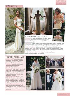 Elizabeth Stuart Moonflower Gown- Irish Tatler January 2016 #elizabethstuart