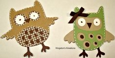 Owl Crafts | Kingston's Kreations: Hoot 'n' Holler...I Love Owls!