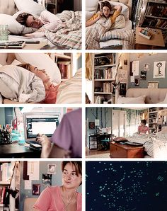 THE FAULT IN OUR STARS DETAILS 1/?? ; hazel's bedroom
