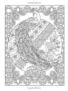 Creative Haven Peacock Designs Coloring Book (Creative Haven Coloring Books): Marty Noble, Creative Haven: 9780486779966: Amazon.com: Books