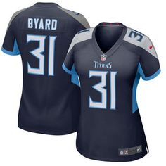 21d0802cc51 Women's Nike 31 Kevin Byard Tennessee Titans Navy New 2018 Game Jersey