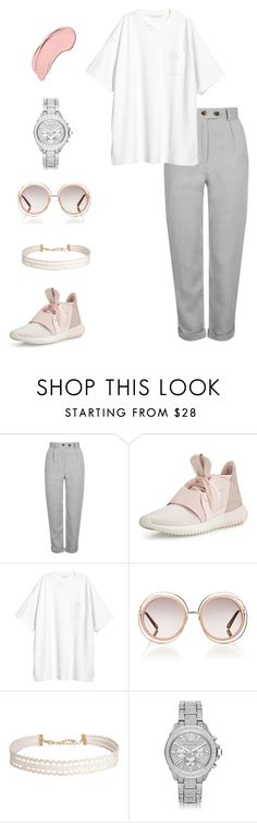 """Untitled #169"" by wiley604 ❤ liked on Polyvore featuring Topshop, adidas, Chloé, Humble Chic and NYX"