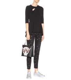 Stella McCartney - Skinny Jeans mit Polkadots - mytheresa.com
