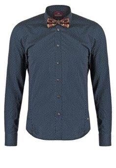 Hemd - dark blue/white