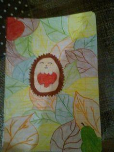 Kreslený ježko :-) :-) :-) :-) :-)
