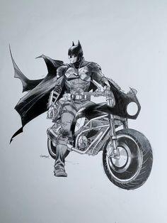 Batman Fan Art, Superman Art, Batman Batman, Batman Armor, Batman Drawing, Batman Poster, Dark Drawings, Arte Dc Comics, Batman Wallpaper