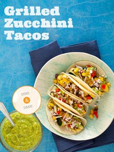 Healthy tacos for when you're having a puffy day. (I am for realzies obsessed with this whole blog!)