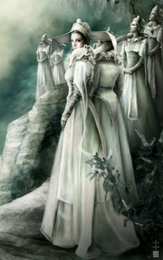 """""""The Sisters"""" by Eve Ventrue."""