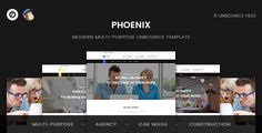 Buy Phoenix - Multi-Purpose Unbounce Template by ExplicitConcepts on ThemeForest. About Phoenix Phoenix : is a clean and modern Multi-Purpose Unbounce template. It can be used to promote your servic. Responsive Layout, Website Template, Digital Marketing, Media Marketing, Purpose, Web Design, Social Media, Templates, Business