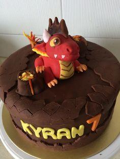 Dragon city chocolate cupcakes