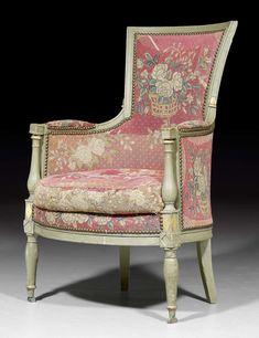 gefasste bergere directoire paris um 1800 emese merges antique furniture antik mobel