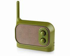 Retro Radio Lexon Mezzo LA90 Khaki