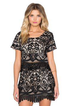 Lovers + Friends x REVOLVE Daycation Crop Top in Black