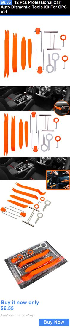 Car Audio Video And Gps 12pcs Car Auto Dismantle Tools Kit For