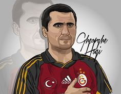 """Check out new work on my @Behance portfolio: """"Gheorghe Hagi Illustration"""" http://be.net/gallery/40963535/Gheorghe-Hagi-Illustration"""