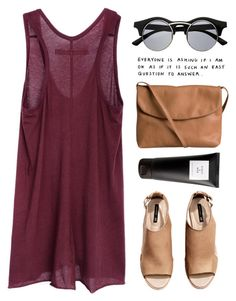 """""""#817"""" by maartinavg ❤ liked on Polyvore featuring Enza Costa, H&M, Pieces and Eight & Bob"""