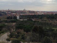 Madrid desde el Teleférico, Casa de Campo