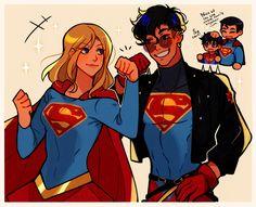 Superhero Family, Superman Family, Super Sons, Marvel Dc Movies, Batman Y Superman, Robin Dc, Arte Dc Comics, Dc Memes, Tim Drake