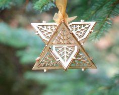 DIY Model Kit  Architectural Ornament  Star от ThomasHouhaDesigns