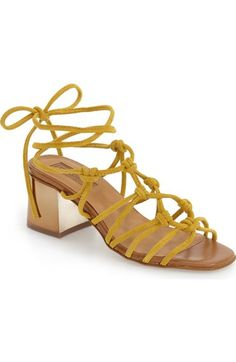 Topshop 'Napoli' Block Heel Sandal (Women) available at #Nordstrom