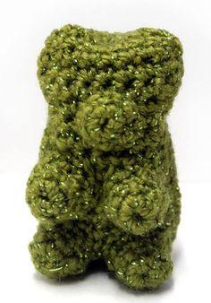 Free Crochet Pattern L20610 Glitter Gummy Bears : Lion Brand Yarn Company