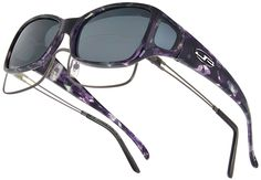 Dahlia Mother Pearl fitover sunglasses by Jonathan Paul® Fitovers are the world's finest fitting fit over sunglasses - made with unparalleled technology specifically to wear comfortably over prescription glasses.